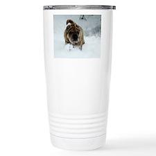 Snow Shar-Pei Travel Coffee Mug
