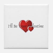 Your Valentine Tile Coaster