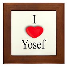Yosef Framed Tile