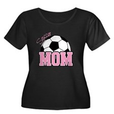 Soccer Mom (Pink) T