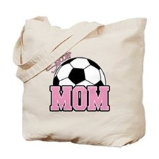 Soccer Mom (Pink) Tote Bag