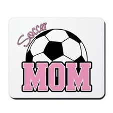 Soccer Mom (Pink) Mousepad