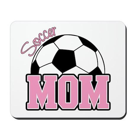 Soccer Mom (Pink) Mousepad