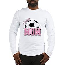 Soccer Mom (Pink) Long Sleeve T-Shirt