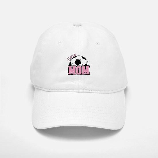 Soccer Mom (Pink) Baseball Baseball Cap