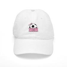 Soccer Mom (Pink) Baseball Cap