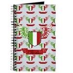 Vintage Italia Flag Wings Journal