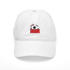 Soccer Mom (Red) Baseball Cap