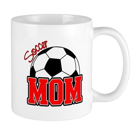 Soccer Mom (Red) Mug