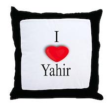 Yahir Throw Pillow