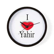 Yahir Wall Clock