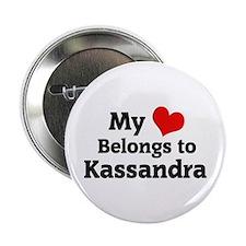 My Heart: Kassandra Button