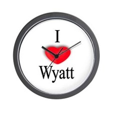 Wyatt Wall Clock