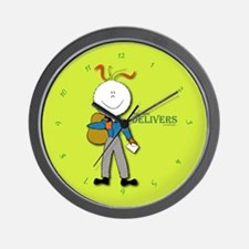 This mom delivers Wall Clock