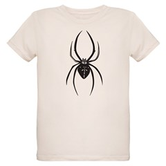 Tribal Spider Organic Kids T-Shirt
