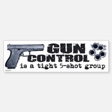 Gun Control Bumper Bumper Stickers