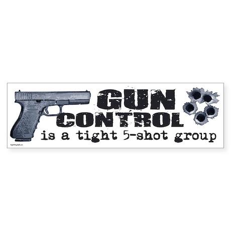 Stop Bumper Stickers - CafePress |Gun Bumper Stickers