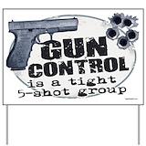 Pro gun Yard Signs