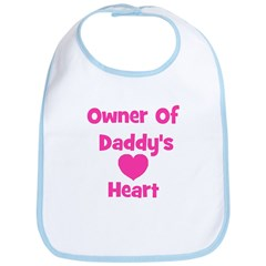 Owner of Daddy's Heart Bib