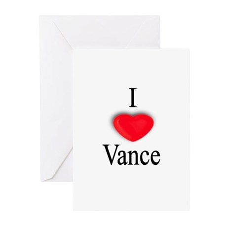Vance Greeting Cards (Pk of 10)