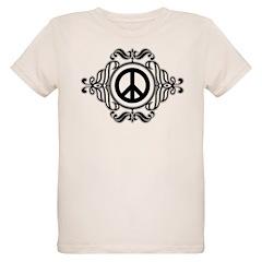Symmetrical Peace Symbol T-Shirt