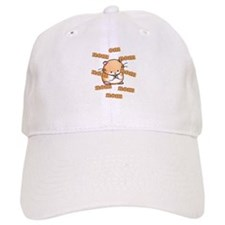 Om Nom Hamster Baseball Cap