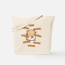 Om Nom Hamster Tote Bag