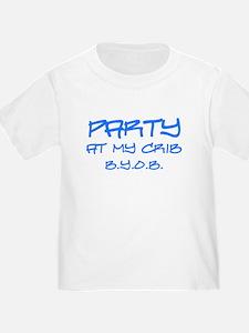 Party at My Crib Graffiti T