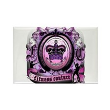 Fitness Couture Royal Cerise Rectangle Magnet