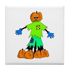 Pumpkin Man Tile Coaster