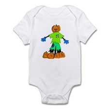 Pumpkin Man Infant Bodysuit