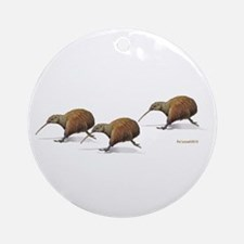 Kiwi Race Ornament (Round)