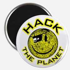 Hack the Planet Magnet