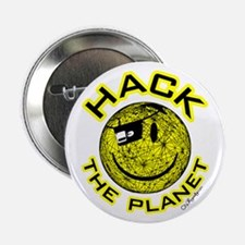 "Hack the Planet 2.25"" Button"