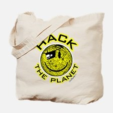 Hack the Planet Tote Bag