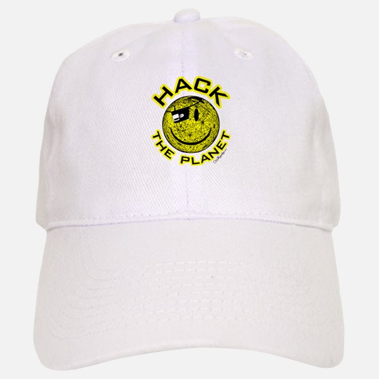 Hack the Planet Baseball Baseball Cap