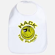 Hack the Planet Bib