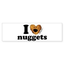 I Love Nuggets Bumper Bumper Sticker