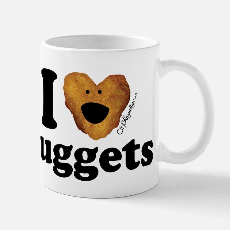 I Love Nuggets Mug