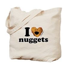 I Love Nuggets Tote Bag