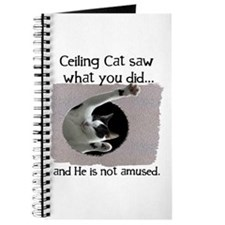 Ceiling Cat Journal