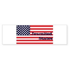 Jewnited States Bumper Bumper Sticker
