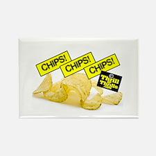 Junk food junkie Rectangle Magnet