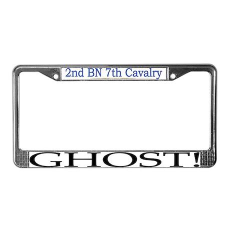2nd Bn 7th Cav License Plate Frame