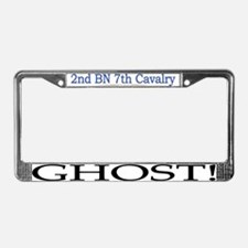 2nd Bn 7th Cav License Plate Frame