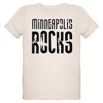 Minneapolis Rocks Organic Kids T-Shirt