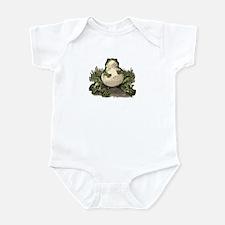 Vintage Fat Frog with Babies Infant Bodysuit