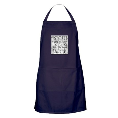 He Who Must Be Obeyed Apron (dark)