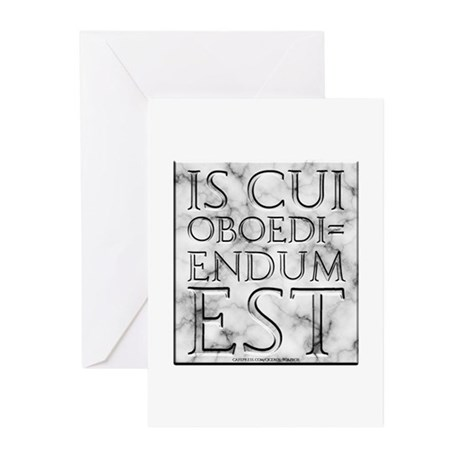 He Who Must Be Obeyed Greeting Cards (Pk of 20)