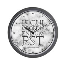 He Who Must Be Obeyed Wall Clock